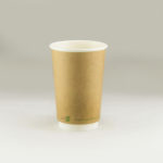 Eco Double wall hot cups & CPLA lids